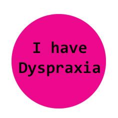 Dyspraxia Pink